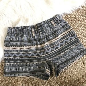 J. Crew Geometric Pull-On Shorts